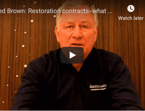 Ted Brown: Restoration contracts–what are they?