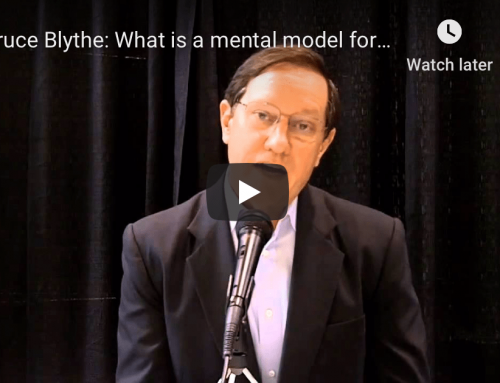 Bruce Blythe: What is a mental model for responding effectively to an incident?